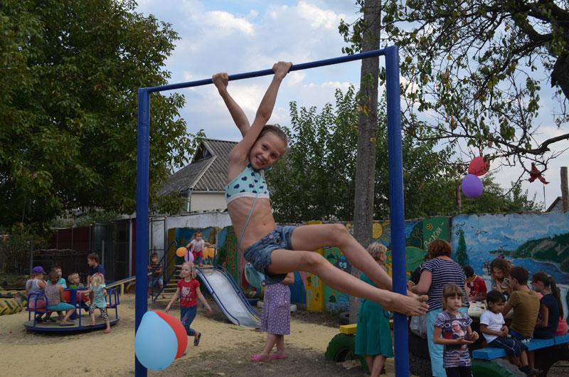 детская площадка на Ольгиевской, Раздельная