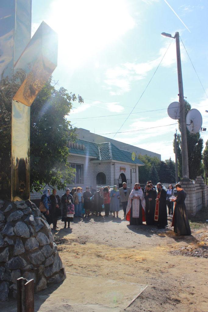 поклонний хрест с. нові чобручі роздільнянський район