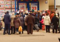 Супермаркет відкривали,ледь людей не затоптали