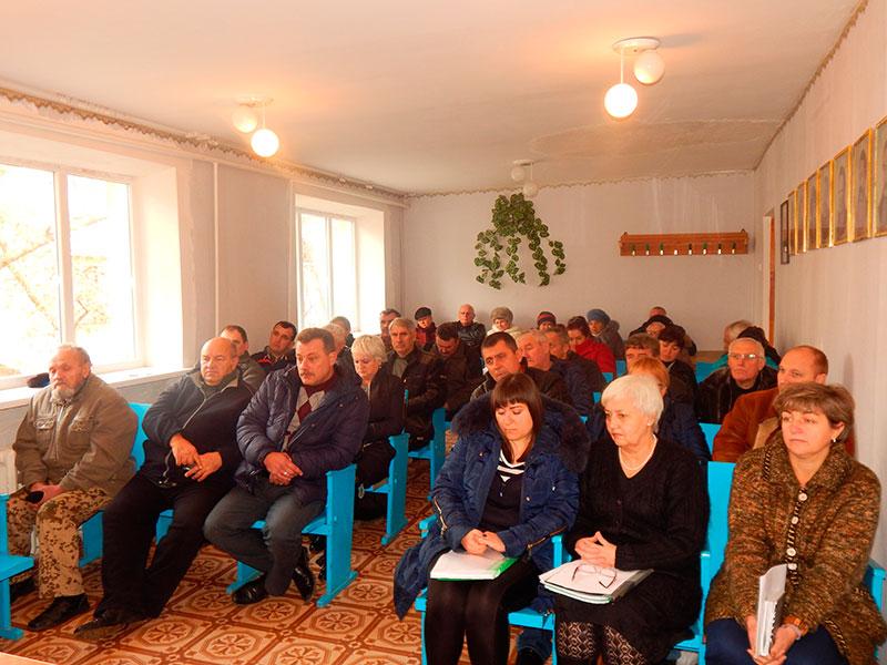 лиманский поселковый совет сессия