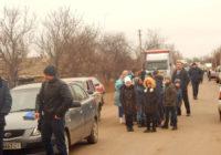 Перекриття дороги Роздільна-Лиманське. Відео