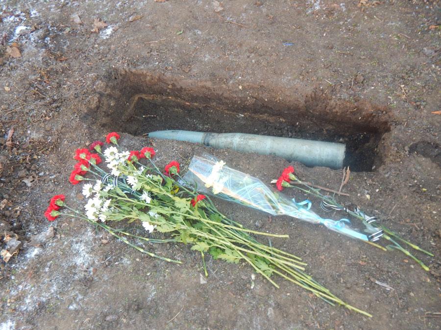 раздельная капсула для памятника героям АТО