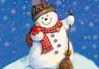 Конкурс на найкреативнішого сніговика