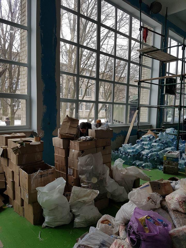 авдеевка гуманитарная помощь фото