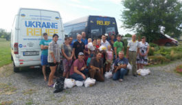 Роздільнянські волонтери підтримують жителів Донбасу, відео