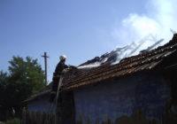 У с. Яковлівка ліквідували пожежу у приватному будинку та господарчій будівлі