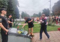 У Роздільній вшанували загиблих працівників органів внутрішніх справ