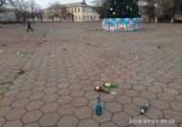 Новий рік у Роздільній: фото 1 січня