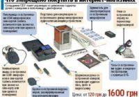 СБУ: какие технические спецсредства запрещено покупать в магазинах