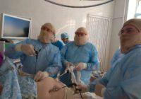 У Роздільнянській ЦРЛ провели першу операцію лапараскопічним методом