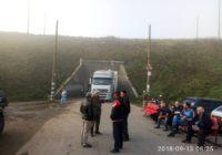 Відео. Третій день блокування дороги в с. Павлівка Роздільнянського району