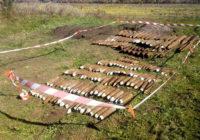 За межами с. Старостине піротехніки ДСНС вилучили 180 боєприпасів