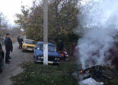 Спалювання листя карається законом! Відео та фото, м. Роздільна