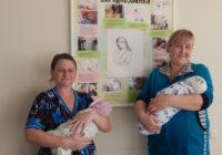 Весняний лелека приніс двом роздільнянським сім'ям двох донечок