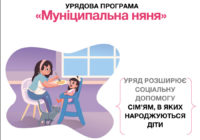 """Умовипослуги з догляду за дитиною """"муніципальна няня"""""""
