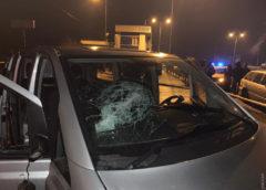 Натрассе Одесса-Киев напали наполицейский пост истреляли винспекторов «Укртрансбезопасности»