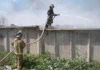 Ліквідувано пожежу на міському сміттєзвалищі