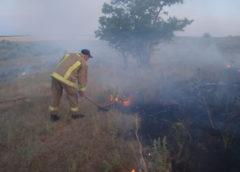 17 – 18 серпня роздільнянські рятувальники ліквідували дві пожежі сухостою