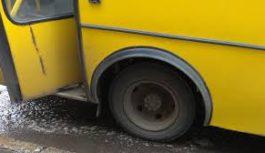 В Одесі жінка випала з маршрутки просто під час руху