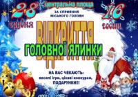 28 грудня у Роздільній відкриють новорічну ялинку
