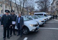 Роздільнянські полісмени отримали новий автомобіль