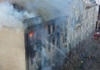 Пожежа в Одесі: кількість загиблих зросла до 12 осіб