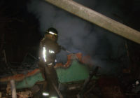 У Степанівцірятувальники ліквідували пожежу у не житловому будинку