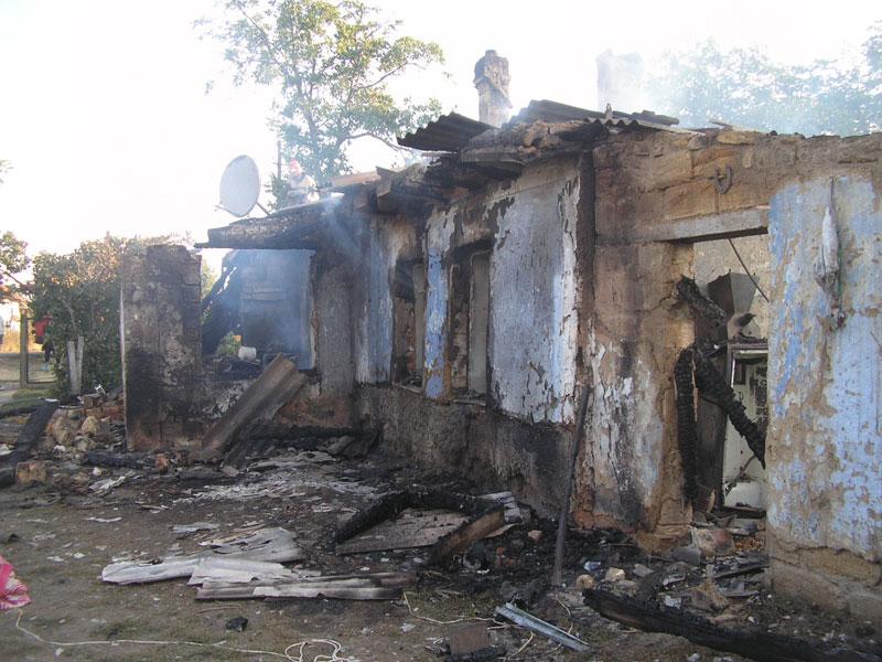 Пожежа в с. Покровка Роздільнянського району