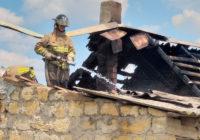 У селі Розалівка рятувальники ліквідували пожежу  у приватному будинку