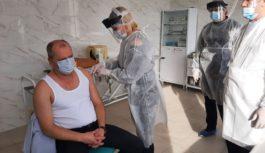 Сергій Приходько першим в районі вакцинувався від СОVID-19