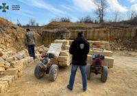 На Одещині СБУ викрила масштабний нелегальний видобуток корисних копалин