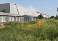 Біля траси Київ-Одеса, у с. Нерубайське, горіли склади